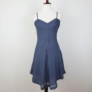 Kensie Textured Button Up Dress